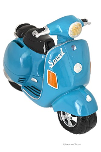 vintage-style-turquoise-italian-scooter-vespa-figurine-decor-money-piggy-bank