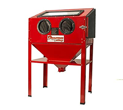 Dragway Tools 60 Gallon Free-Standing Sandblasting Cabinet With Trigger Gun And Nozzles - DR-SCB-200