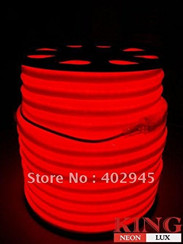 Led Neon Flex Red Led Soft Neon Light Led Flexible Neon Strip Led Neon Rope Lights 240V Ems Express Shipping