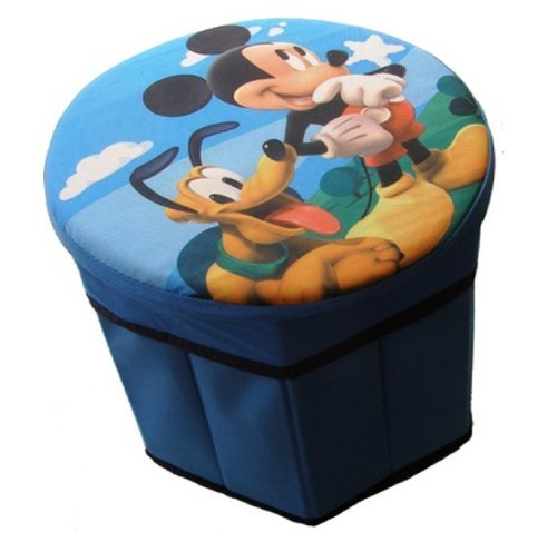 DISNEY CHILDRENS TOYS BEDROOM STORAGE SEAT (MICKEY MOUSE 795434)
