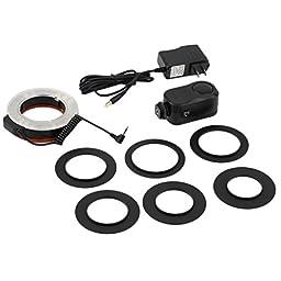 wansen Hot C48LED Macro Ring Round Flash Camera Studio Light Adapter Ring for Camera