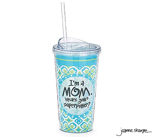 I'm a Mom What's Your Super Power Travel Cup (Mom Cup With Lid compare prices)
