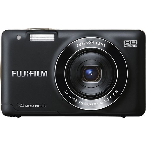Fujifilm FinePix JX520 14 Mega Pixel Digital Camera with 5x Wide-Angle Optical Zoom Image Stabilization 3.0-Inch LCD (Black)