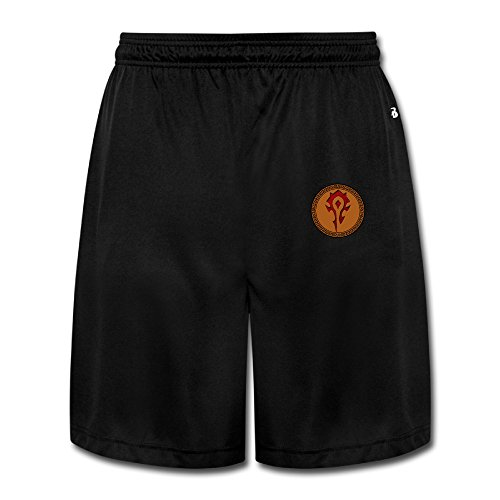 JAX D WOW Logo Men's Cotton Running Shorts Pants Black (Wow Trash Truck compare prices)