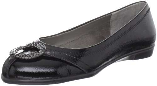 Aerosoles Women's Rebecca Ballet Flat,Black Patent,9 M US