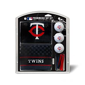 MLB Minnesota Twins Embroidered Towel Gift Set, Navy by Team Golf