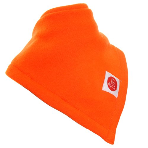 Zippy Absorbent Bandana Dribble Bib For Babies And Toddlers (Orange) front-749200