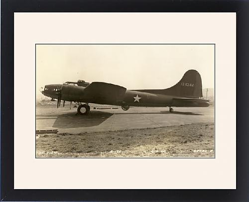 Framed Artwork of Boeing B-17F Flying Fortress April 1942