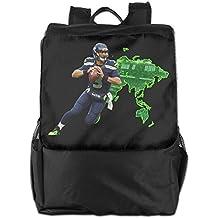 Show Time Backpacks Show Time Russell #3 Wilson Multipurpose Backpack Travel Bag Shoulder Bag