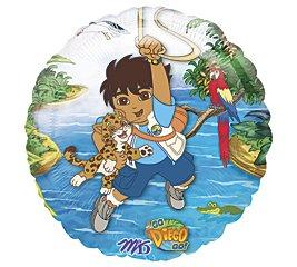 """Go Diego Go 18"""" Foil Balloon"""