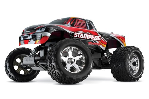 Traxxas 36054-1 Stampede: Monster Truck, Ready-To-Race (1/10 Scale), Colors May Vary (Traxxas Truck compare prices)