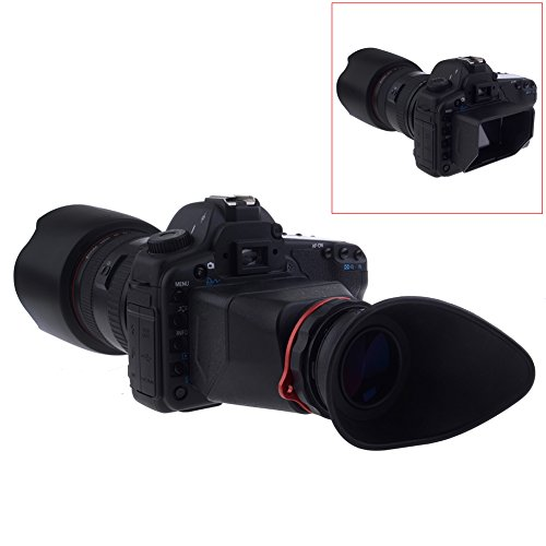 Neewer® NeeView 2.5X Magnification 16:9 DSLR LCD Screen Viewfinder for Canon 5D III 1Dx Nikon D800