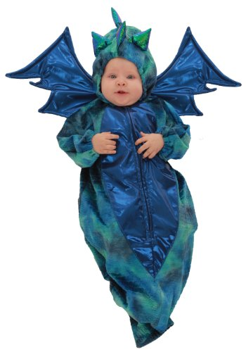 Princess Paradise Baby Blue Green Dragon Infant Bunting Halloween Costume