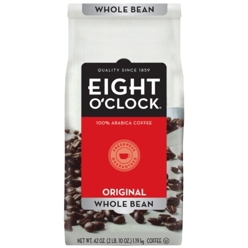 Eight O'Clock Coffee, Original Whole Bean, 42-Ounce Package
