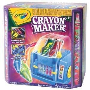 CRAYOLA CRAYON MAKER WITH NO LIGHT BULB
