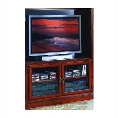 Cheap 8043 Series TV Stand in Warm Cherry (8043C-T)