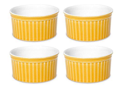 Oxford Porcelain Ramekin- Set of 4 (Yellow)