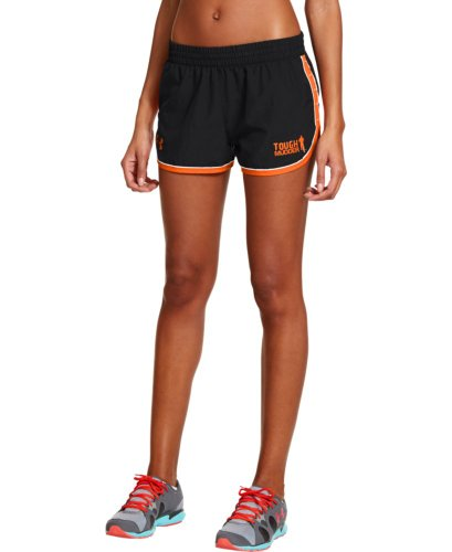 Under Armour Women's Tough Mudder UA Great Escape II Shorts Extra Small Black