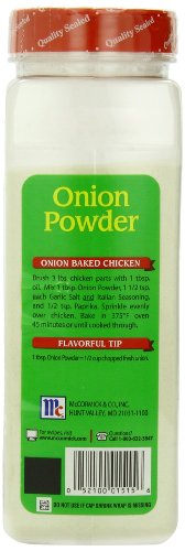 Mccormick Onion Powder, 22.00 Ounce (Pack of 12)