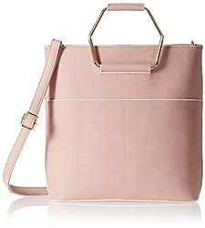 KNY Women's Handbag (Pink) (KNY052)