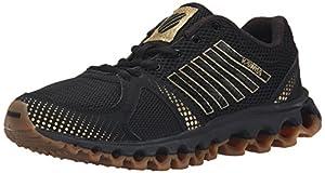 K-Swiss Women's X-160 CMF Training Shoe, Black/Gold/Dark Gum, 10 M US