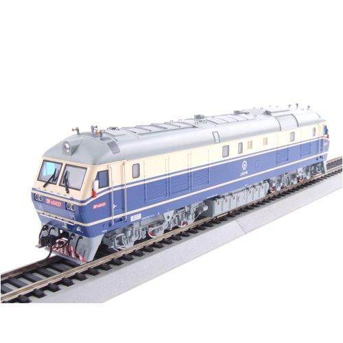 城 火车模型 内燃机车 DF11 0451 京局津段