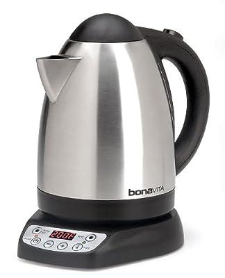 Bonavita 1.7-Liter Variable Temperature Digital Electric Kettle