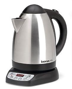 Bonavita 1.7-Liter Variable Temperature Digital Electric Kettle by Bonavita
