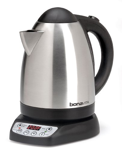 Bonavita 1.7-Liter Variable Temperature Digital Electric Kettle front-609097