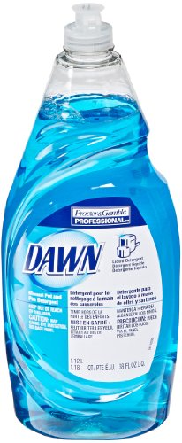 Dawn 45112 Original Scent Manual Pot and Pan Detergent, 38 Ounces (Case of 8) - 1