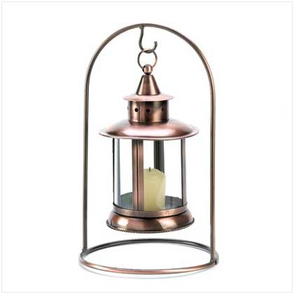 5 Copper Hanging Tabletop Lantern Wedding Centerpieces