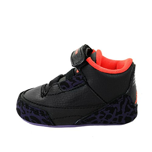 Jordan Kids 3 Retro Gift Pack Black Crimson 574416-005 1c