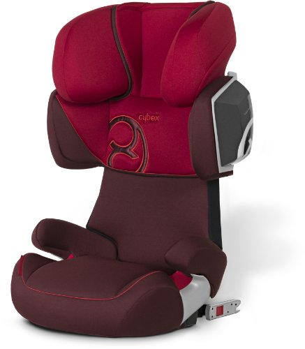 Cybex 512117007 Solution X2-Fix Autositz Gruppe II, III, chilli pepper red