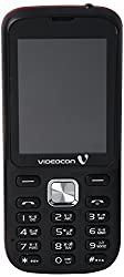 Videocon V1530 Mobile Phone With 1.3 MP Camera and 2.4 Inches, 240 X 320 Pixel Display (Black & Red)