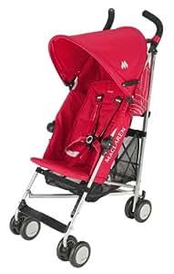 Maclaren Triumph Stroller, Scarlet/Silver (Discontinued by Manufacturer)