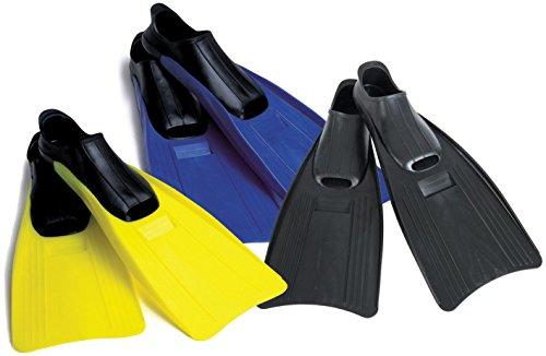 Intex Schwimmflossen Small Super Sport 2 Farben für Schuhgröße EU 35 - 37 Phthalates Free, 55933