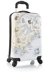 "Heys Illustrated Map-Maps-21"" Cabin Spinner"