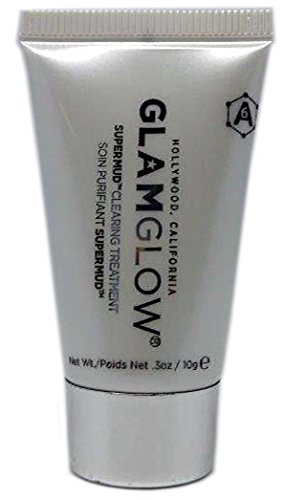 GlamGlow --SUPER MUD Clearing Treatment -- Travel Size Tube .3 oz / 10 mL -- SMALLER SIZE glamglow