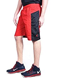 Repugn's Exactor07 Polyester shorts (Red, XX-Large)