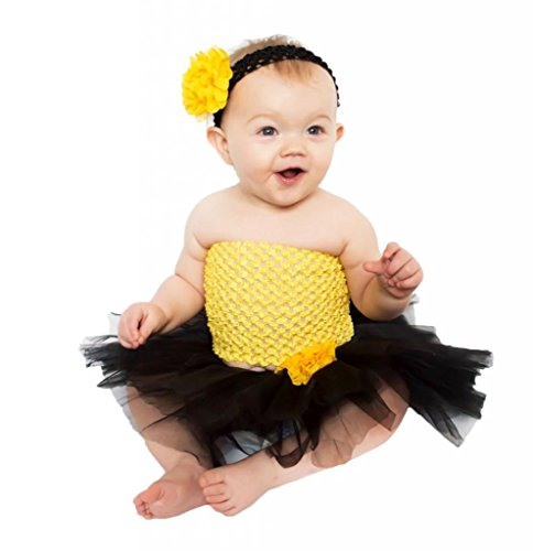 Wholesale Princess Black and Yellow Tutu Gift Set
