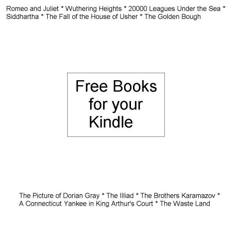 Free Books for Your Kindle