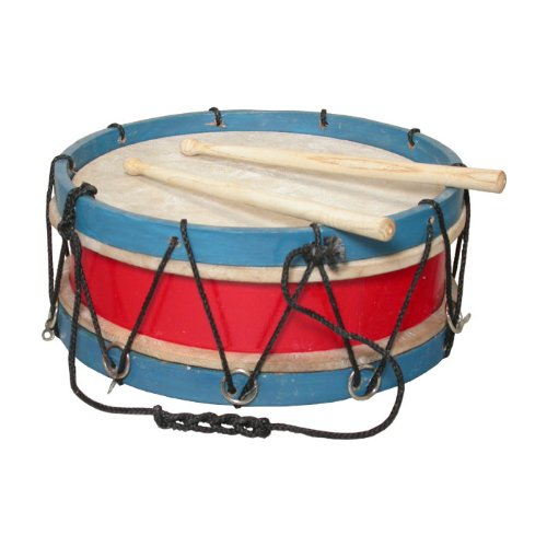 "Tabor Drum, 10"", With Sticks"