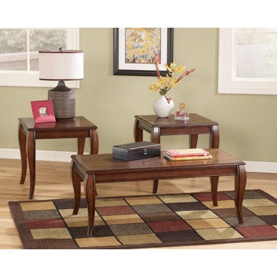 Inlay 3 Piece Coffee Table Set