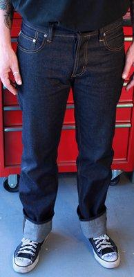 Lip Service Mens Greaser Fit Indigo Denim Jeans (28, Indigo) at Amazon