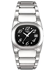 Tissot Women's T0091101105700 T-Moments Black Dial Watch