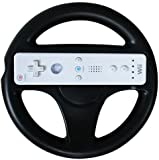 Puregadgets Wii Black Steering Wheel for Wii Remote Wiimote Controller