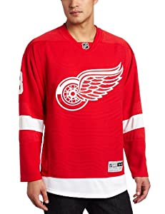 NHL Men's Detroit Red Wings #13 Pavel Datsyuk Reebok Edge Premier Player Jersey (Red, X-Large)