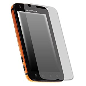 Skinomi TechSkin Light Wood Film Shield Protector for Motorola Atrix 4G