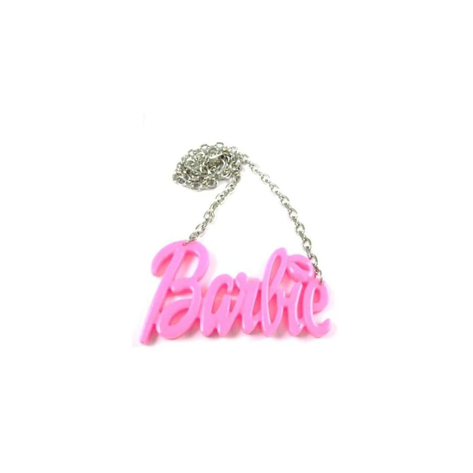 NEW NICKI MINAJ BARBIE Pink Pendant w/18 Chain