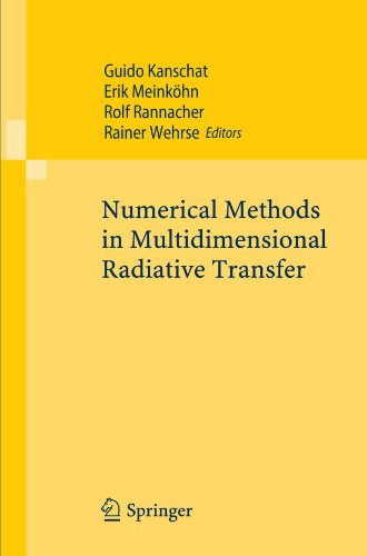 Numerical Methods in Multidimensional Radiative Transfer